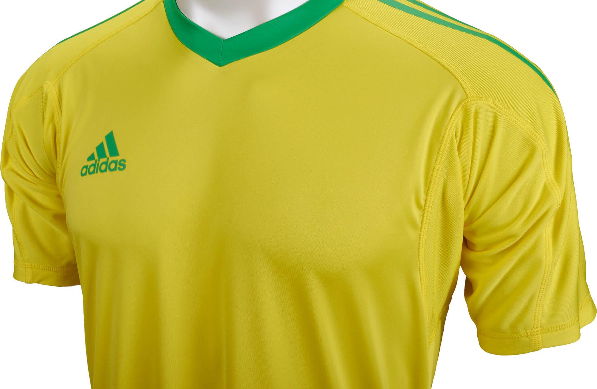 dff87b930 adidas Revigo 17 S/S Goalkeeper Jersey - Bright Yellow & Energy ...