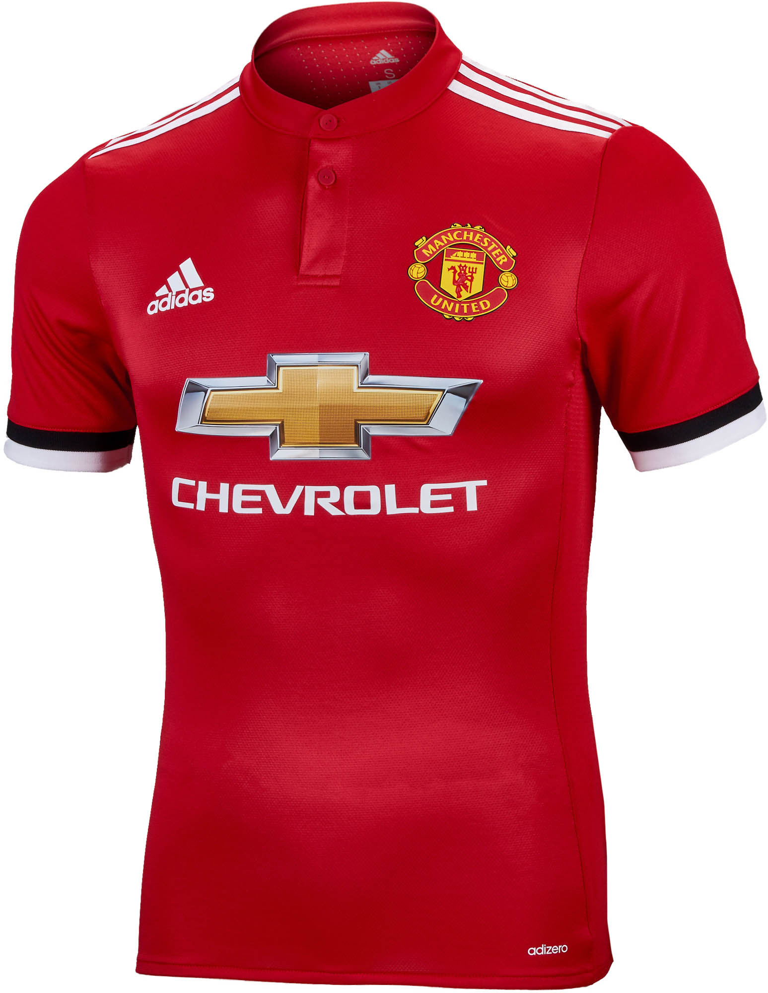 best sneakers 433e9 5e0c6 adidas Manchester United Authentic Home Jersey 2017-18