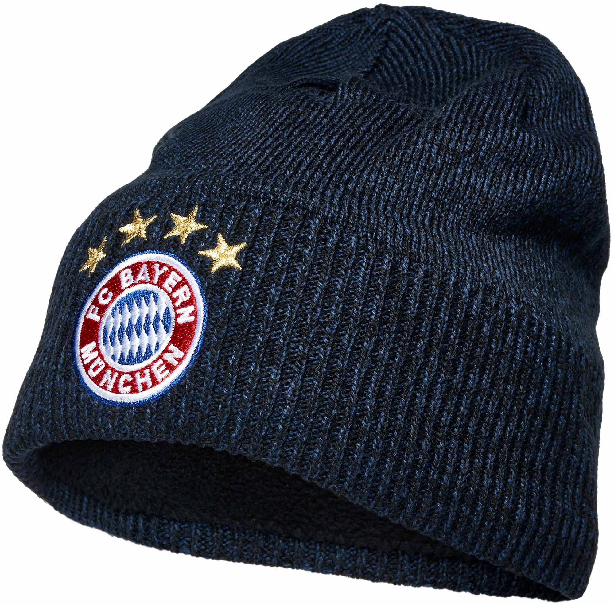 3c2cb71b14f adidas Bayern Munich Beanie - Collegiate Navy   Black - Soccer Master
