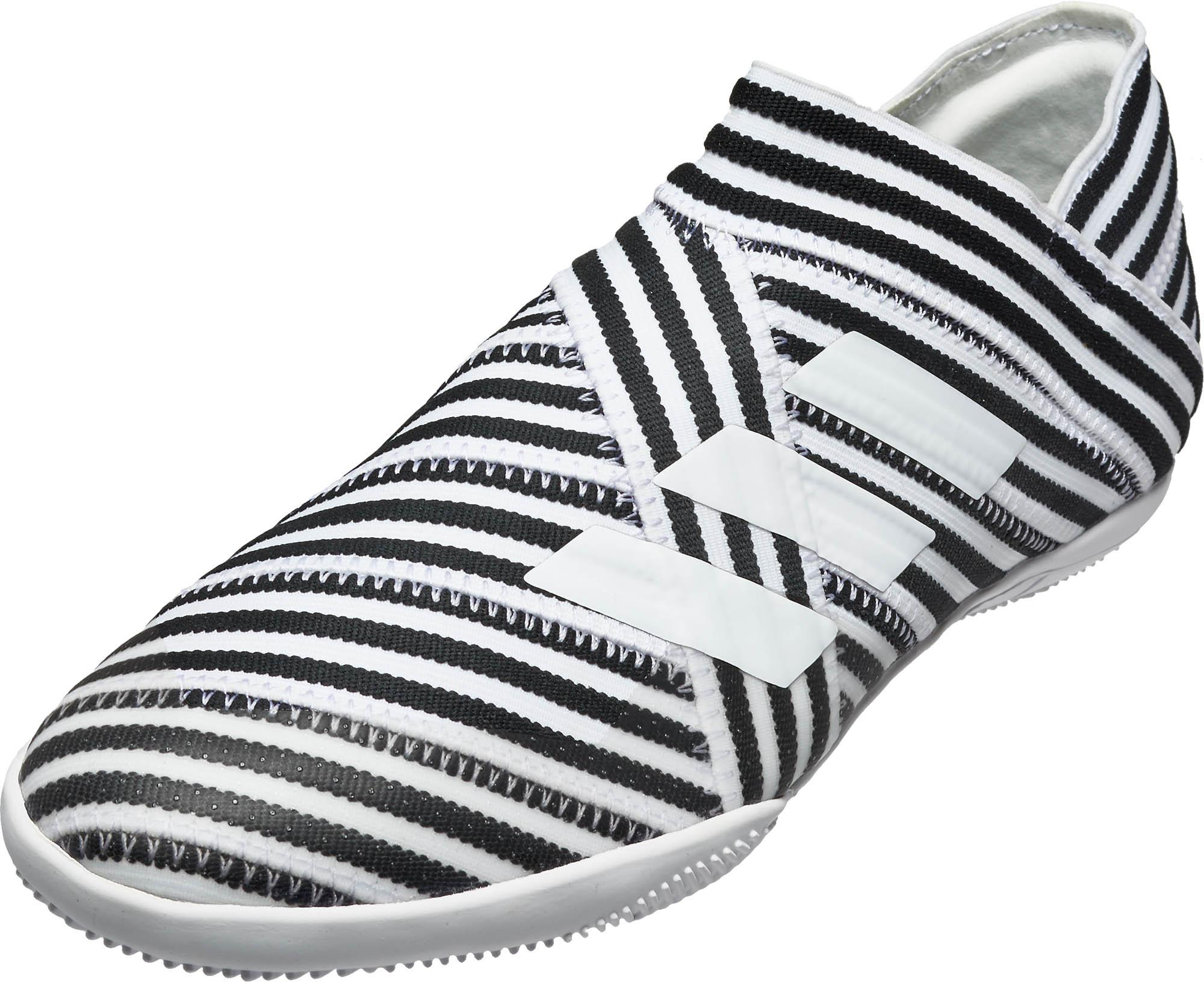 adidas Kids Nemeziz Tango 17+ 360Agility IN - White   Black - Soccer ... 5dd85ea5c682