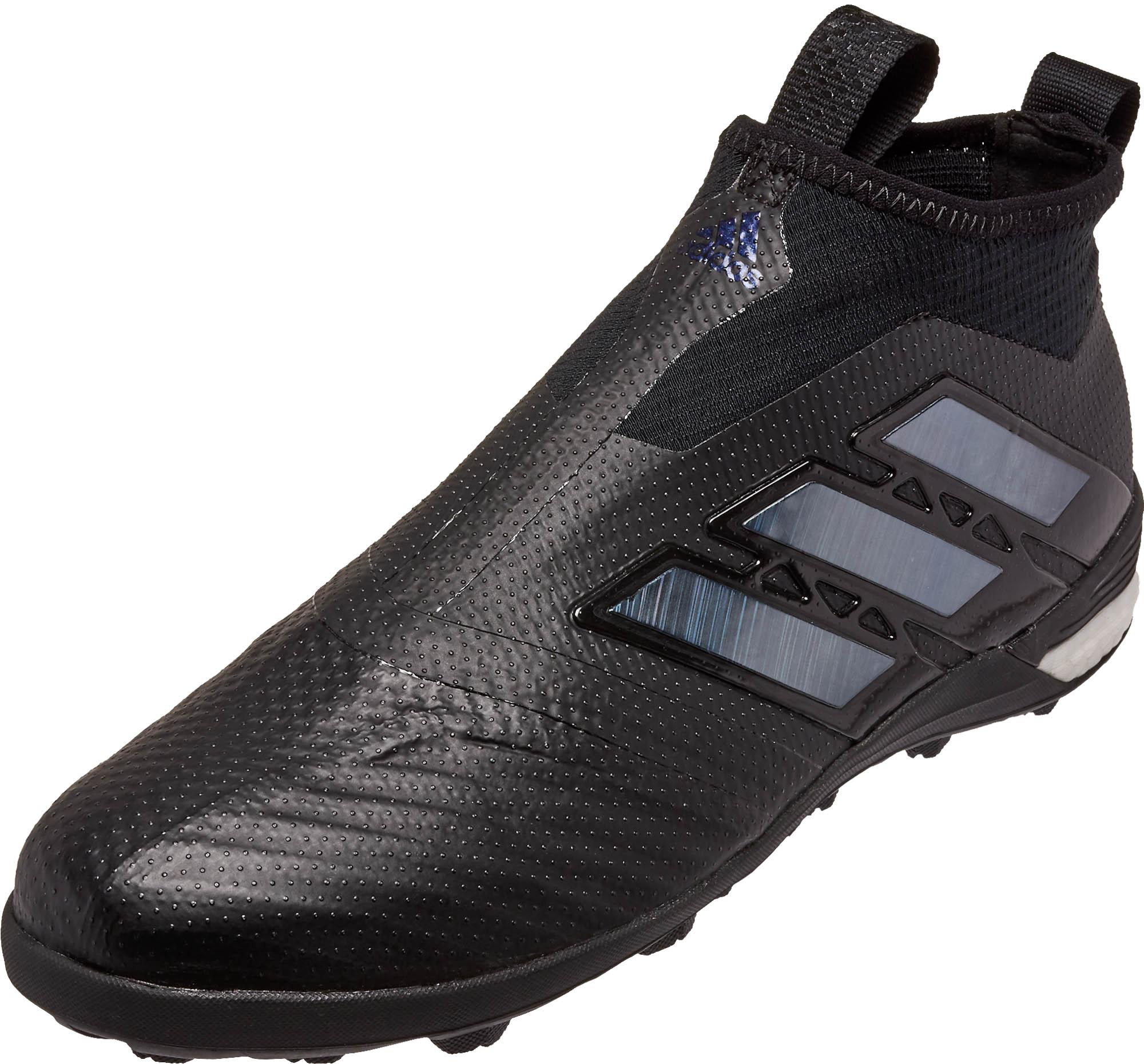 adidas ace tango 17 purecontrol tf soccer shoes black. Black Bedroom Furniture Sets. Home Design Ideas