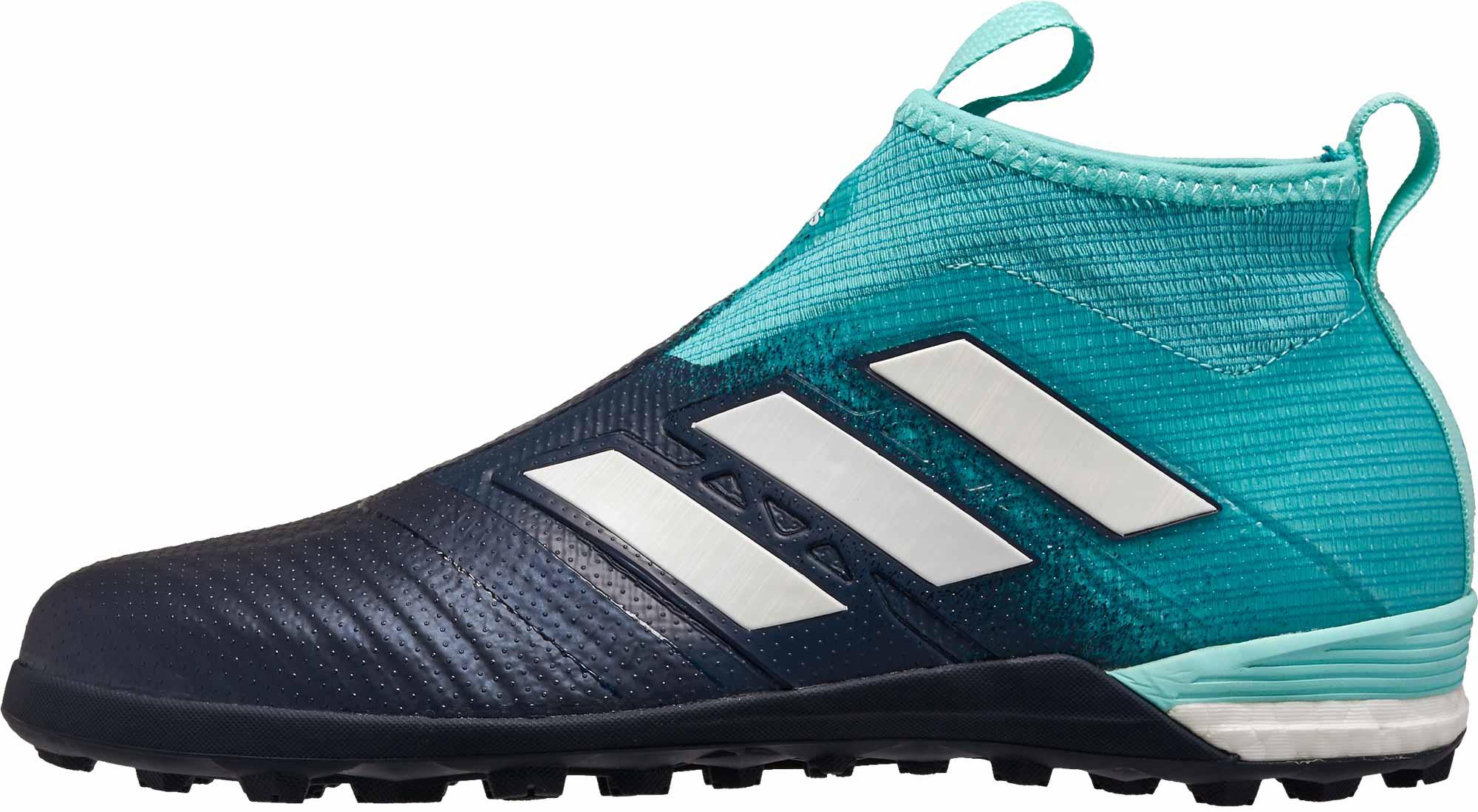 9ab74895dec2 adidas ACE Tango 17+ Purecontrol TF - Energy Aqua   White - Soccer ...