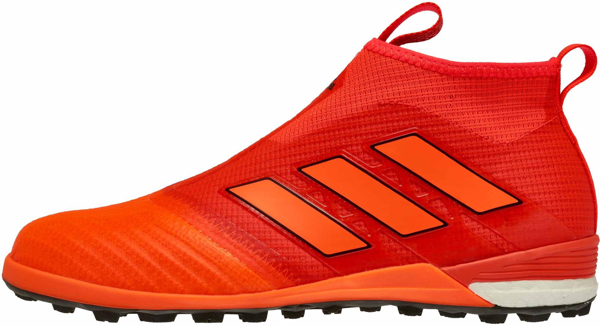 Bigote Gorrión fregar  adidas ACE Tango 17+ Purecontrol TF - Solar Red & Solar Orange - Soccer  Master