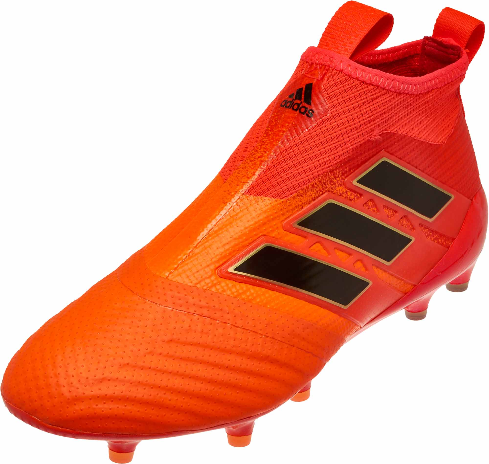 b57c550d7 adidas ACE 17+ Purecontrol FG Soccer Cleats – Solar Orange   Core Black