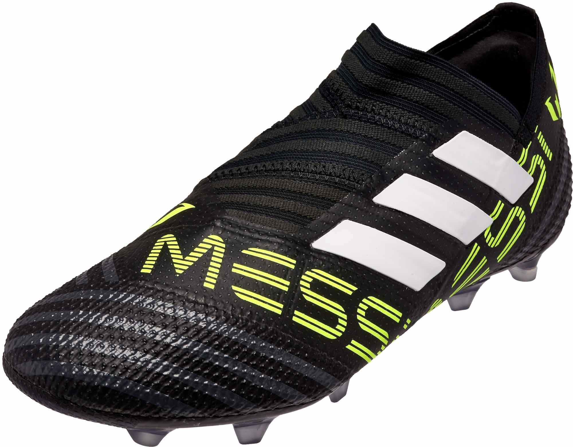 209e77c52a0f8c adidas Kids Nemeziz Messi 17+ 360Agility FG - Black   Solar Yellow ...