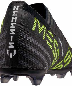 super popular be05b 5fa4c adidas Kids Nemeziz Messi 17+ 360Agility FG - Black   Solar Yellow - Soccer  Master