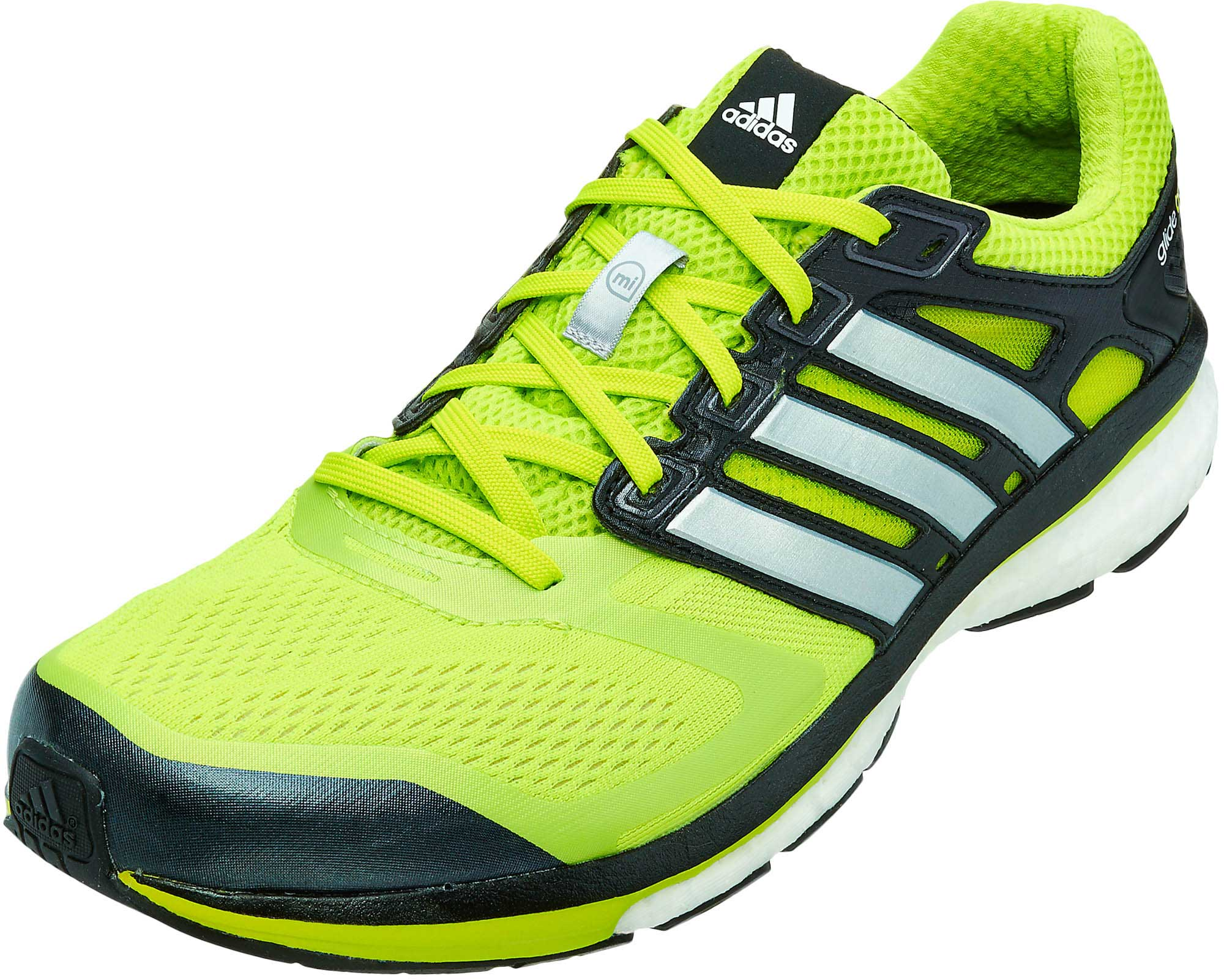 adidas Supernova Glide 6 Boost Running Shoes Solar Slime