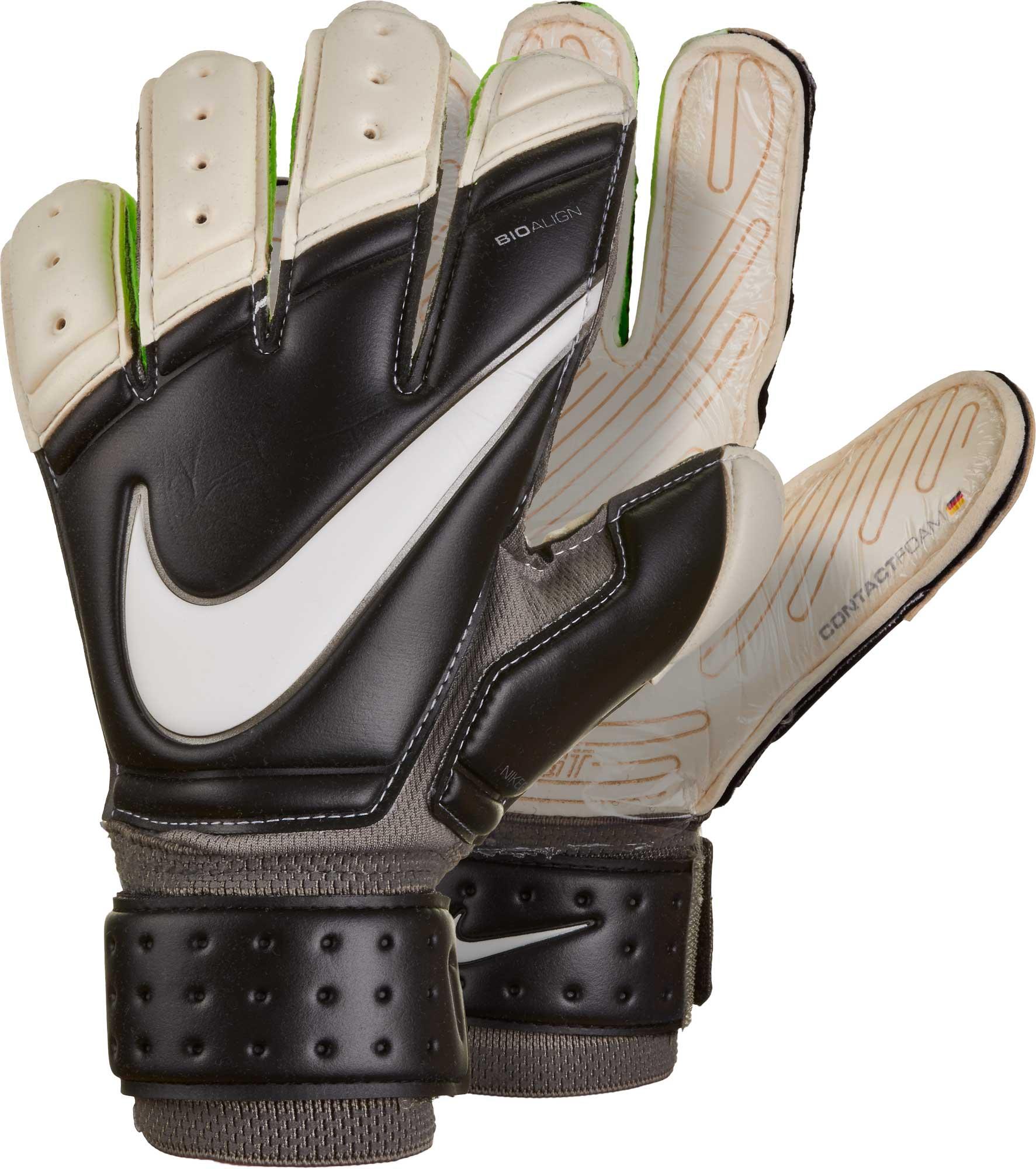 688024dfd7c5 Nike Premier SGT Goalkeeper Gloves - Black/White - Soccer Master