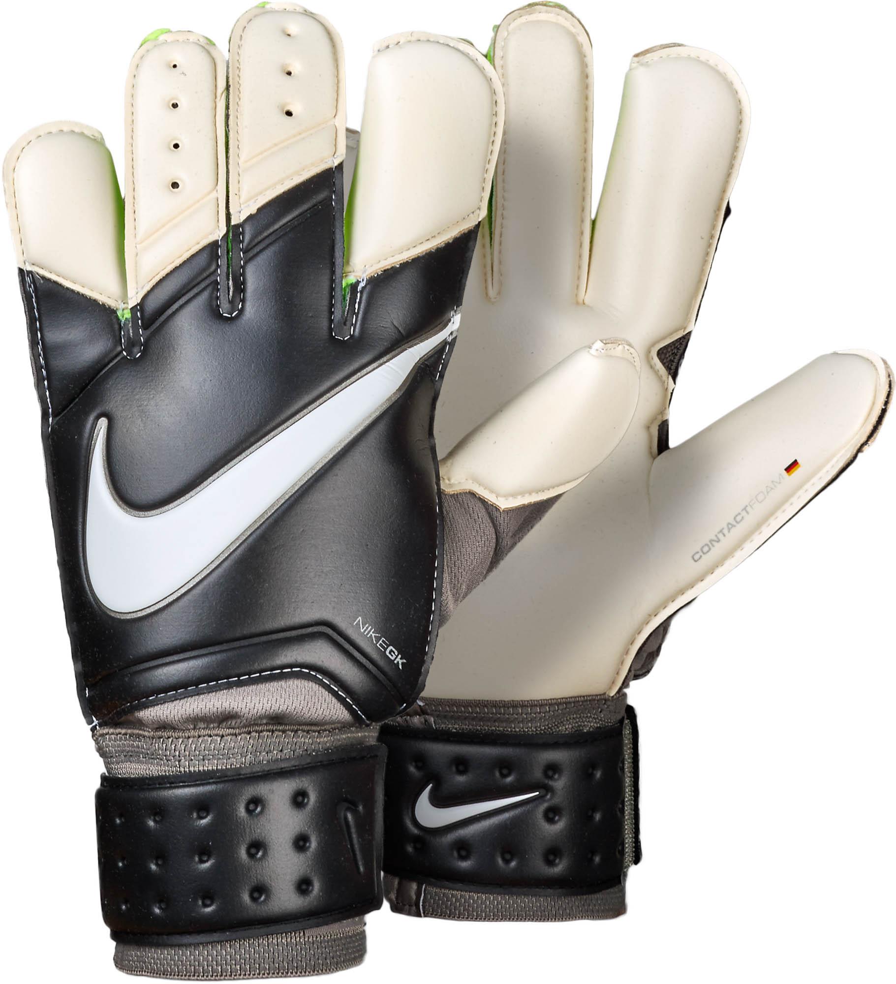 Nike Vapor Grip 3 Goalkeeper Gloves - Black White - Soccer Master fbc5e52b7ab7