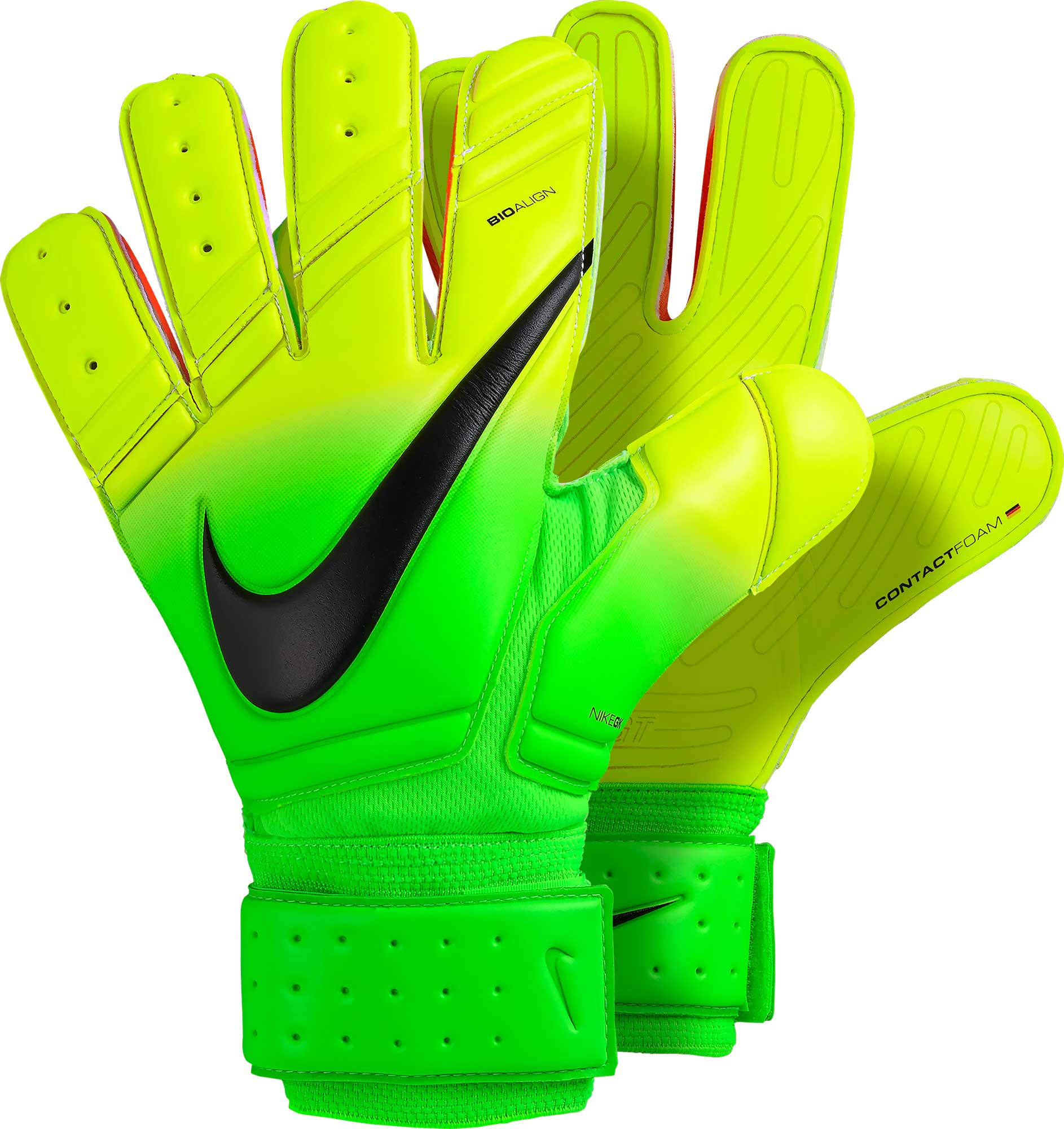 Nike Premier SGT Goalkeeper Gloves - Electric Green   Volt - Soccer ... d65d4a520