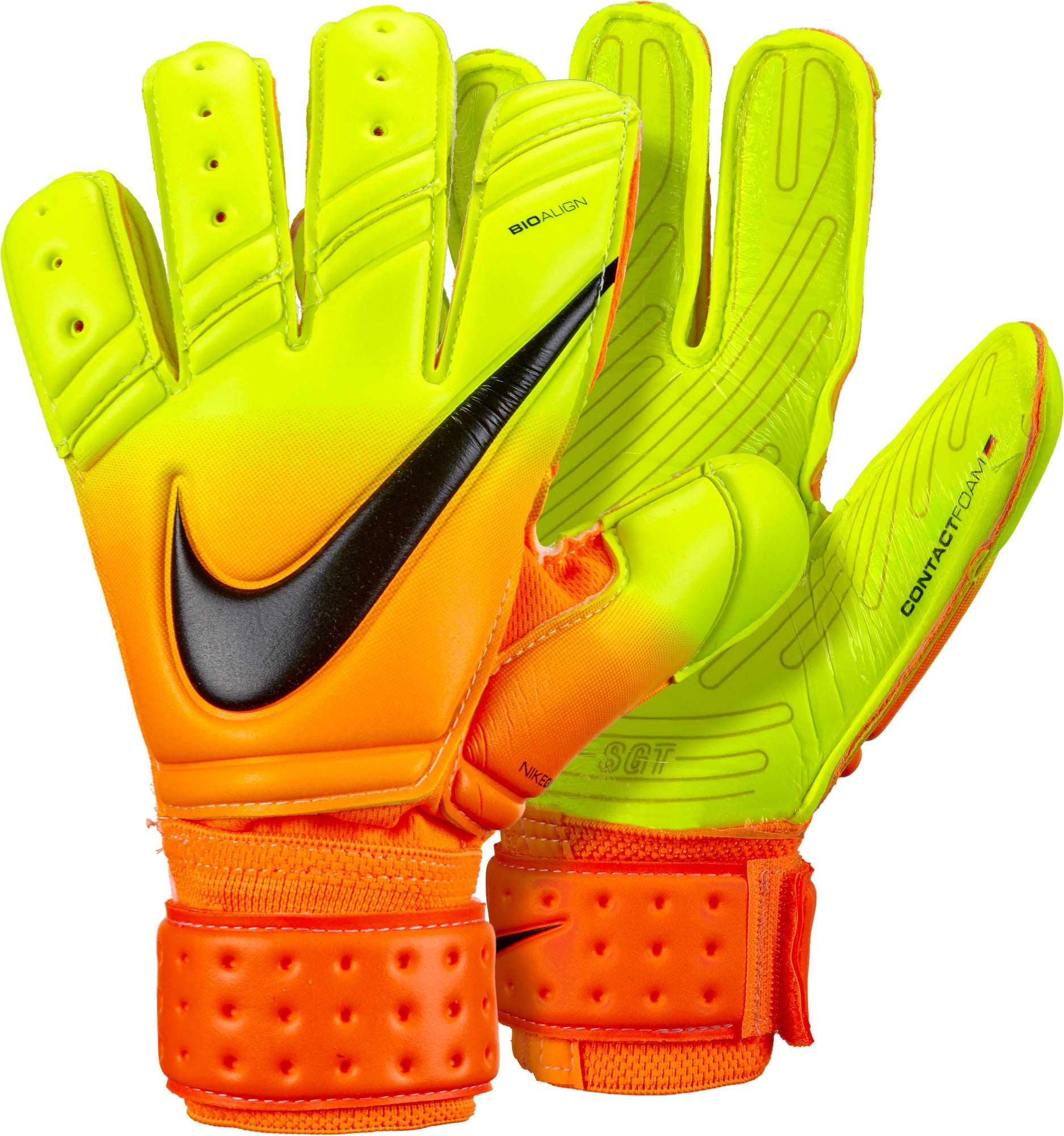 Nike Premier SGT Goalkeeper Gloves - Bright Citrus Volt - Soccer Master a99799403