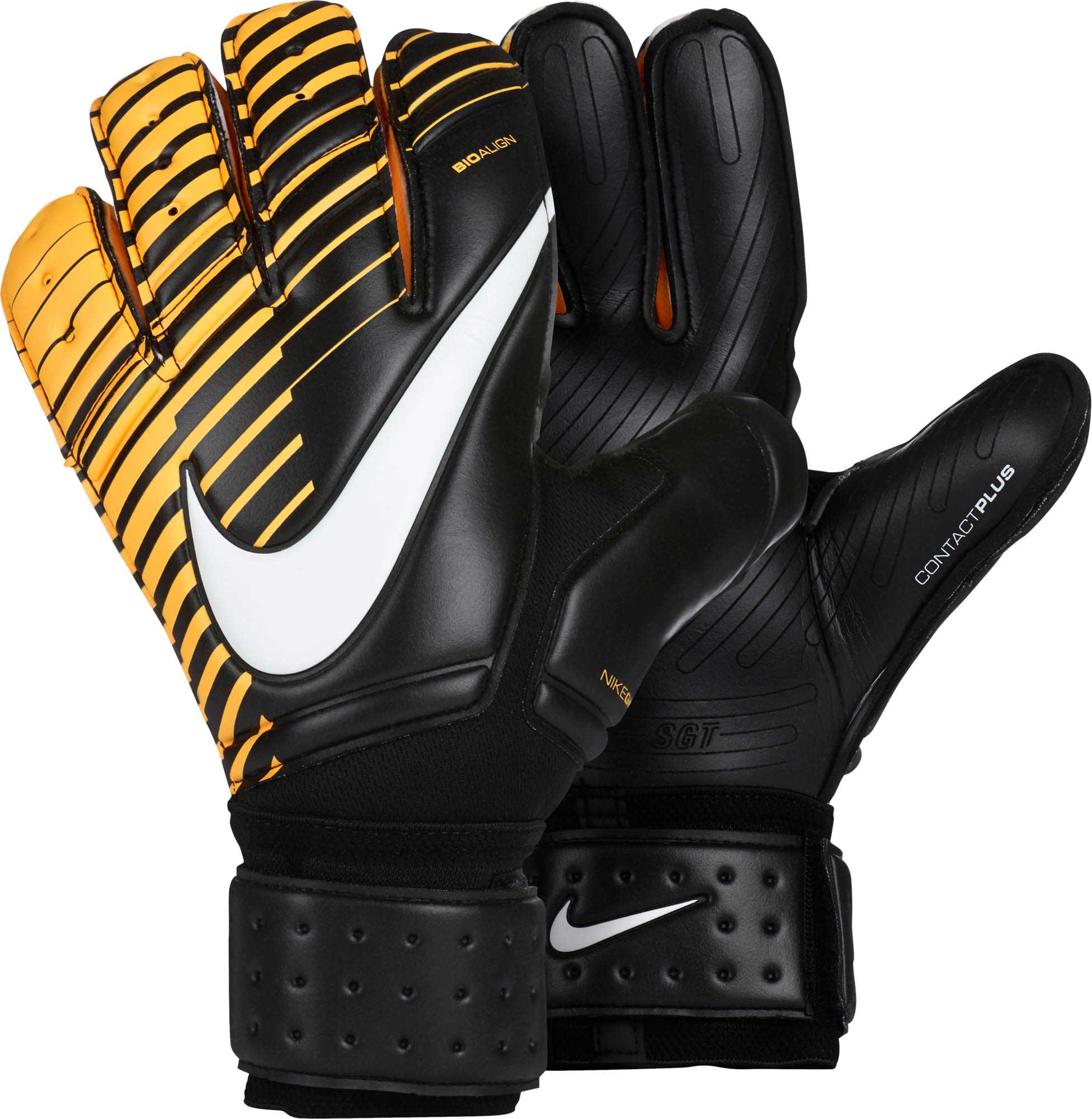 Nike Premier SGT Goalkeeper Gloves - Black & Laser Orange - Soccer Master