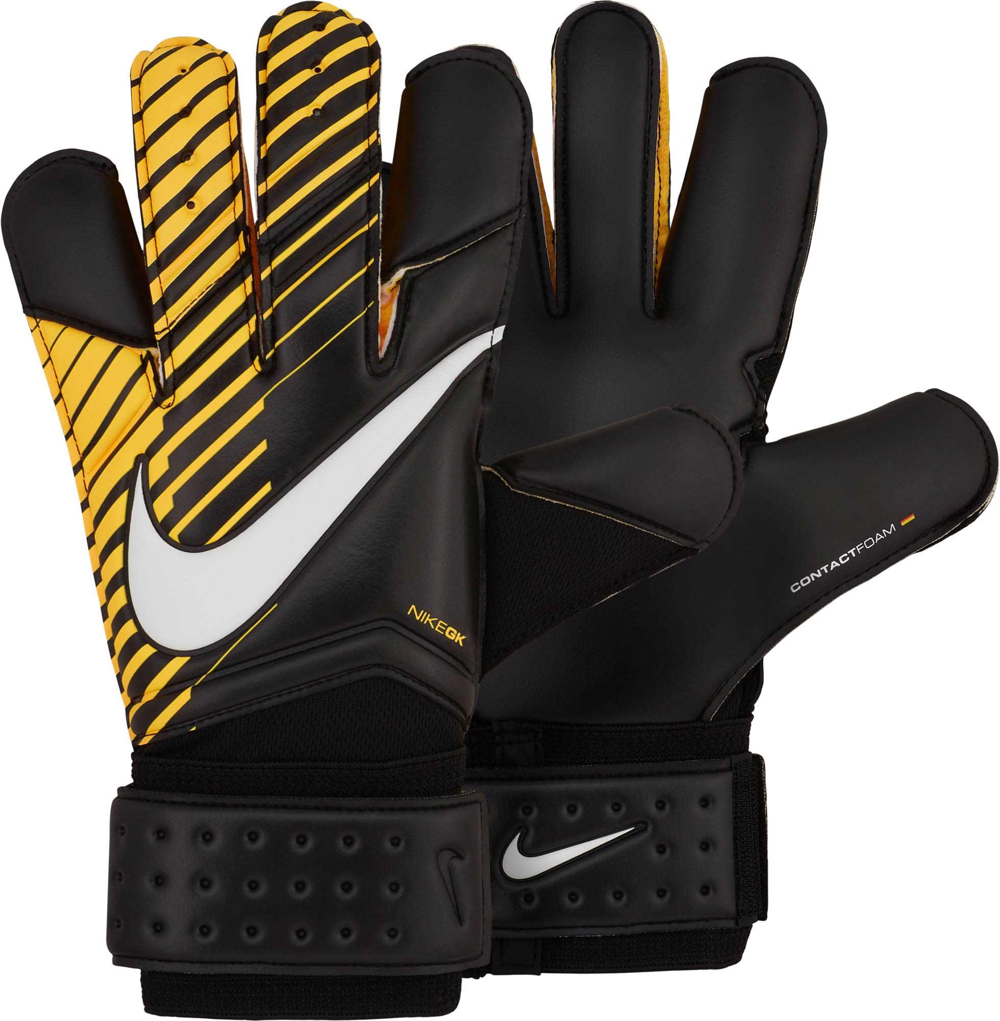Nike Vapor Grip3 Goalkeeper Gloves Black & Laser Orange