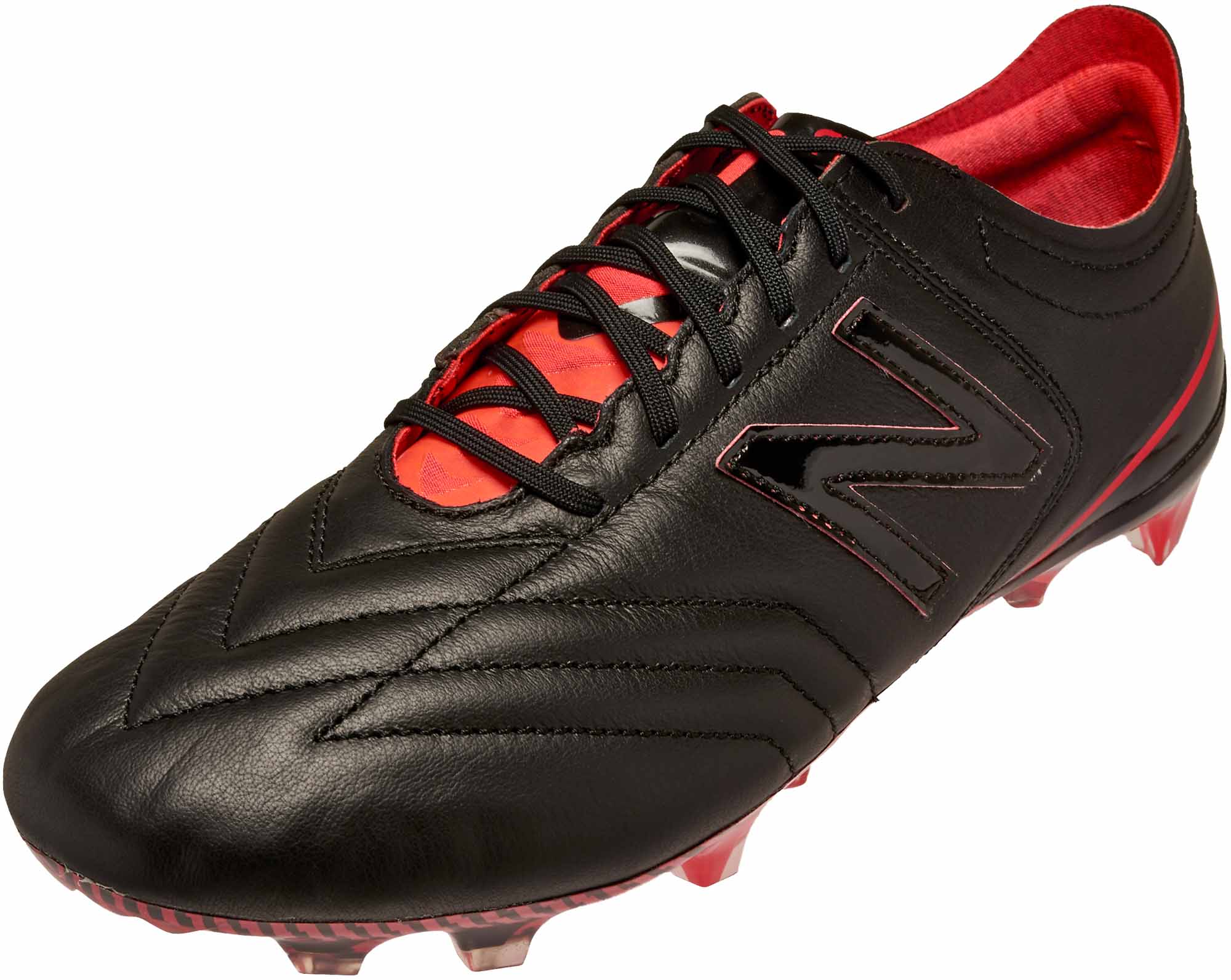 b6cfdab17e938 New Balance Furon 3.0 FG Soccer Cleats – K-Leather – Black & Energy Red