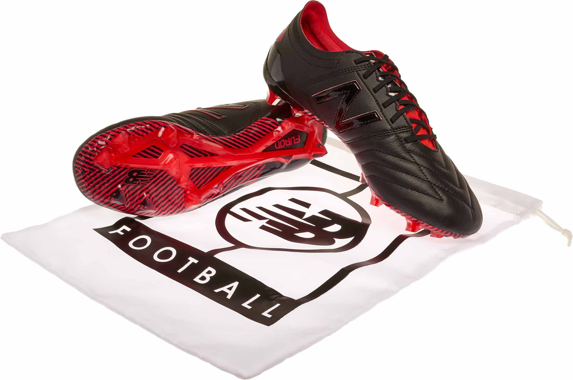 bb1911afe1e New Balance Furon 3.0 FG Soccer Cleats - K-Leather - Black   Energy ...