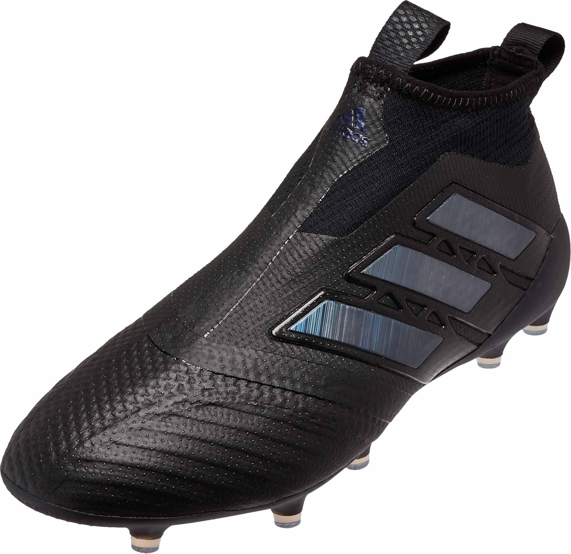 54d444ef9a39 adidas ACE 17+ Purecontrol FG Soccer Cleats - Black & Utility Black ...
