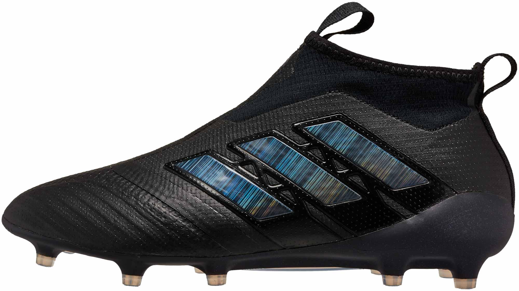 designer fashion 3b901 f3eb4 adidas ACE 17+ Purecontrol FG Soccer Cleats - Black ...