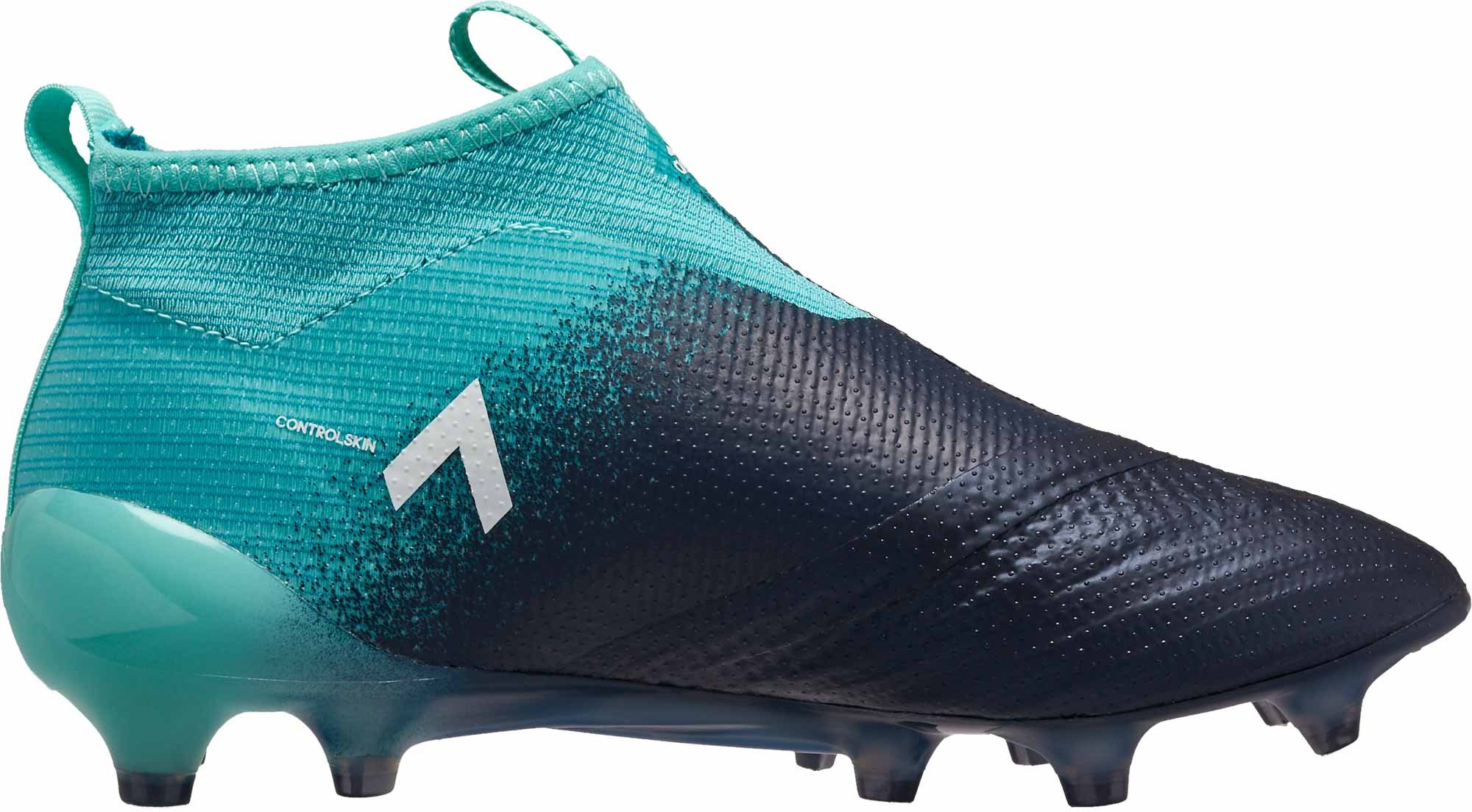 39adb00ec adidas Kids ACE 17+ Purecontrol FG Soccer Cleats - Energy Aqua ...