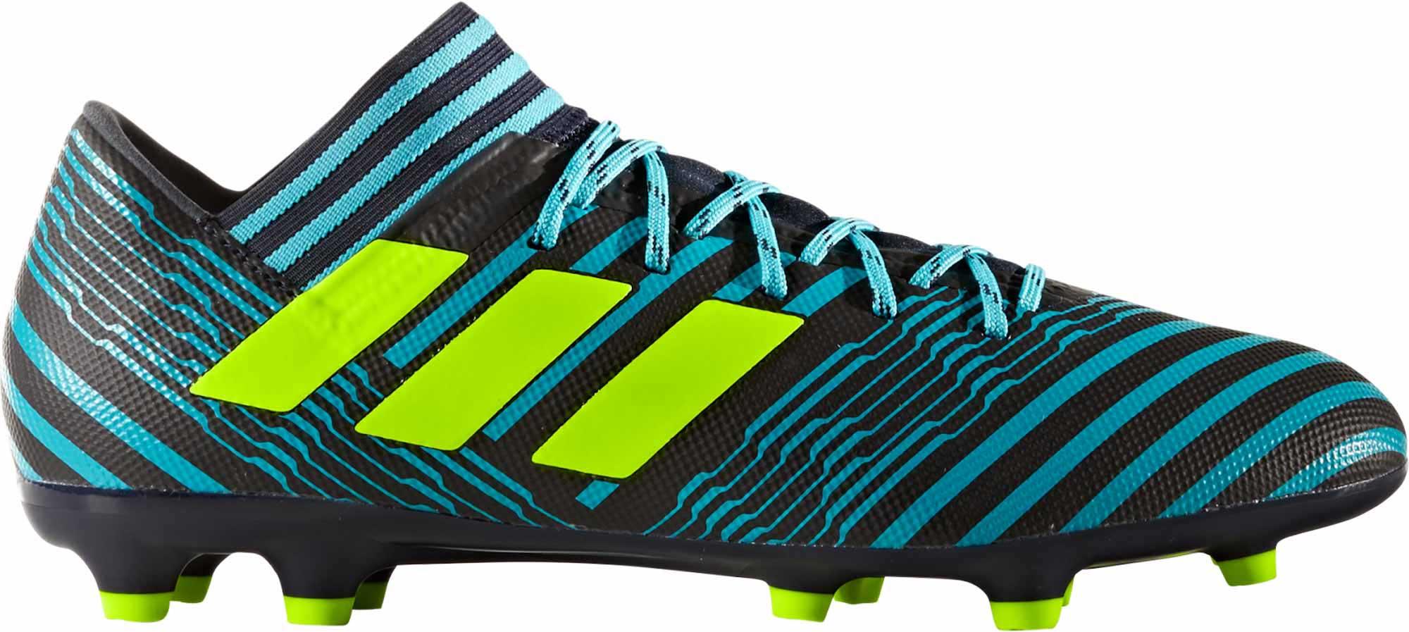 adidas Nemeziz 17.3 FG Soccer Cleats Legend Ink & Solar