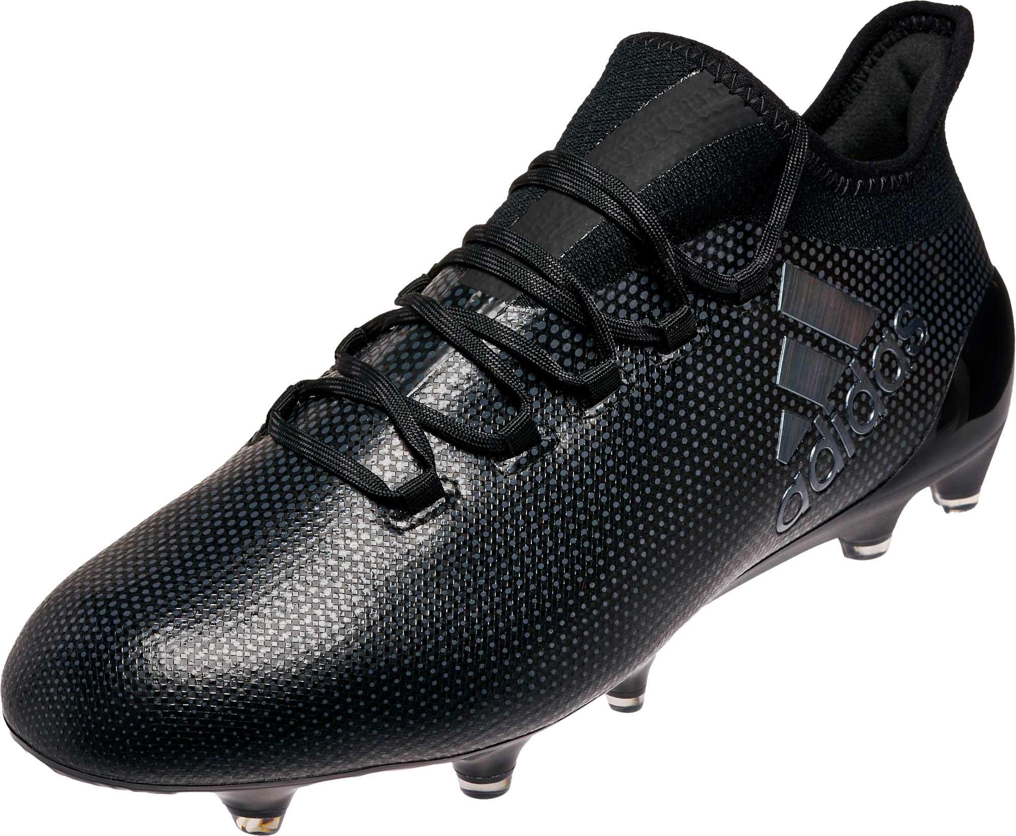 adidas X 17.1 FG Soccer Cleats - Black - Soccer Master 2933cae36fb5