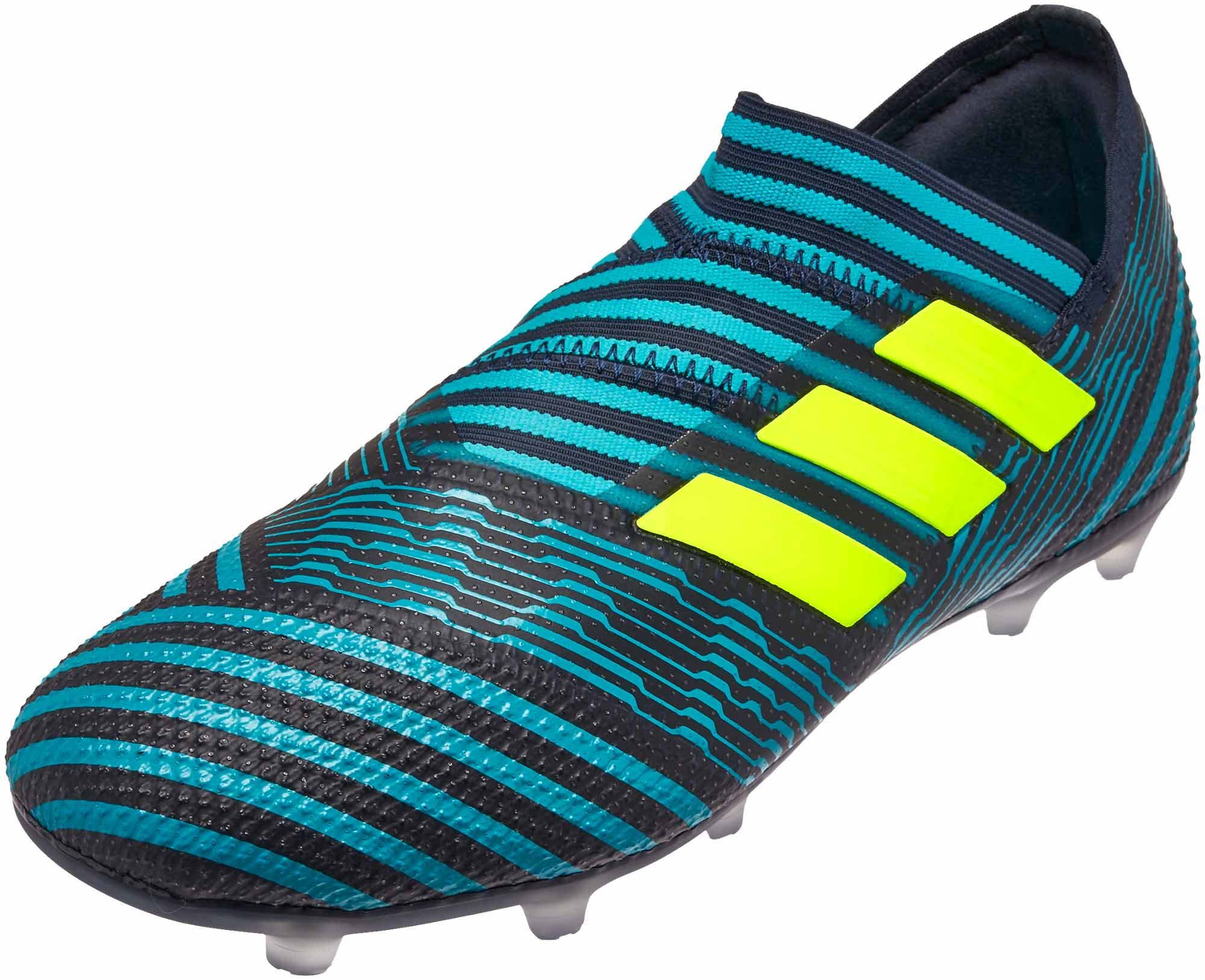 Kids adidas Nemeziz 17+ 360Agility FG Soccer Cleats – Legend Ink   Solar  Yellow fe97fbbb9
