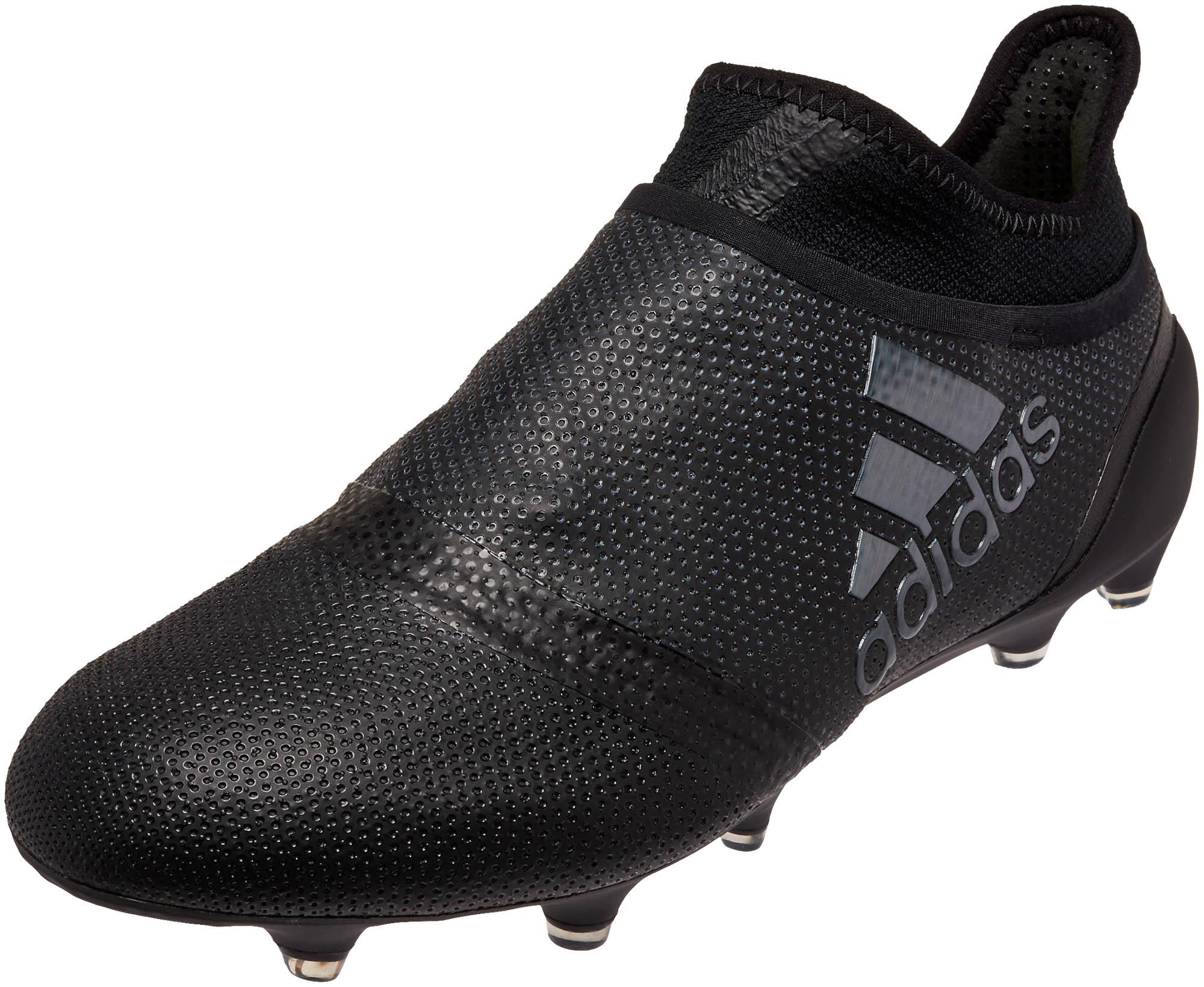 adidas X 17+ Purechaos FG Soccer Cleats - Black - Soccer Master f9b25e79ea32a