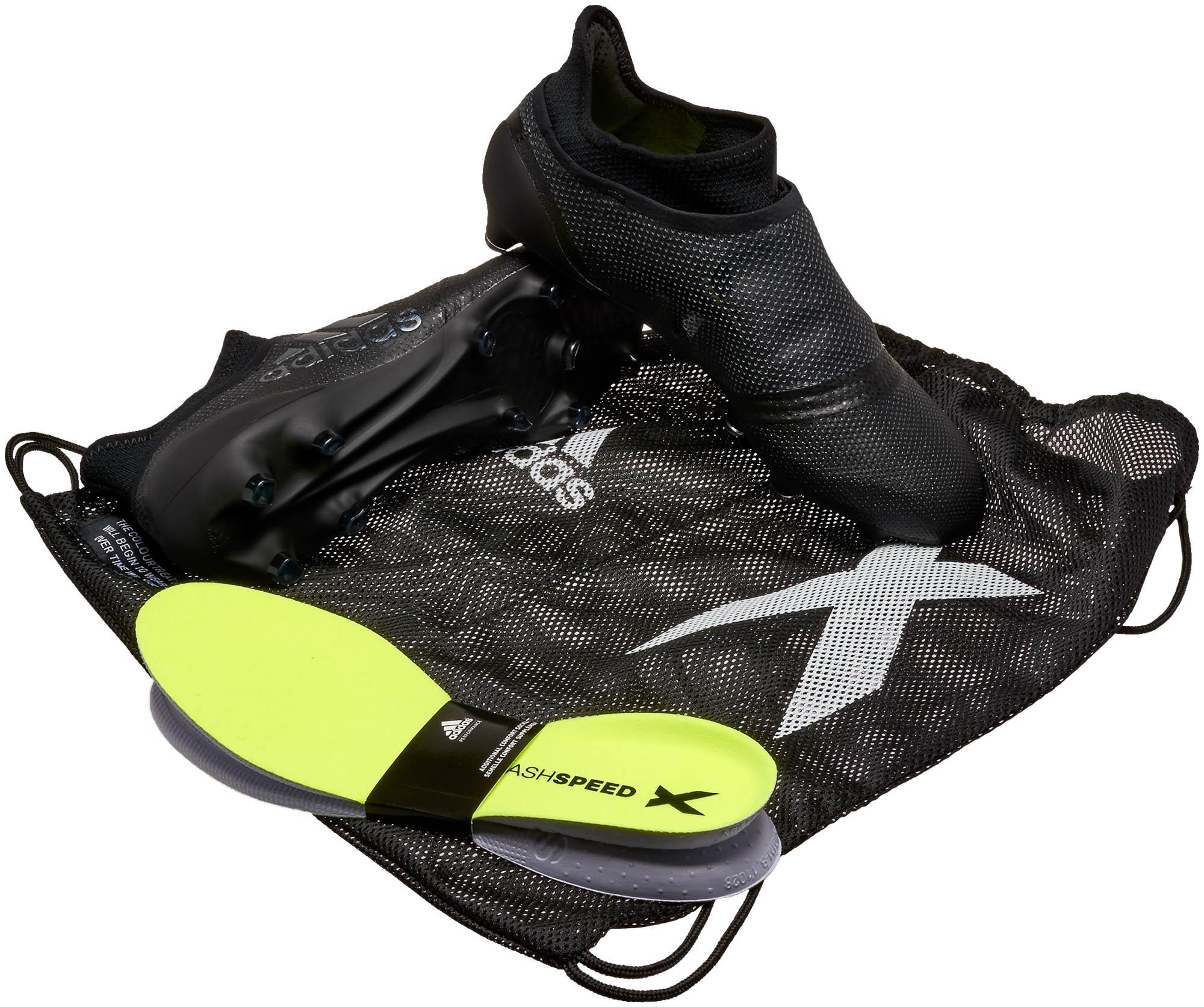 size 40 3b036 93d54 adidas x 17+ purespeed unisport shoes black pants