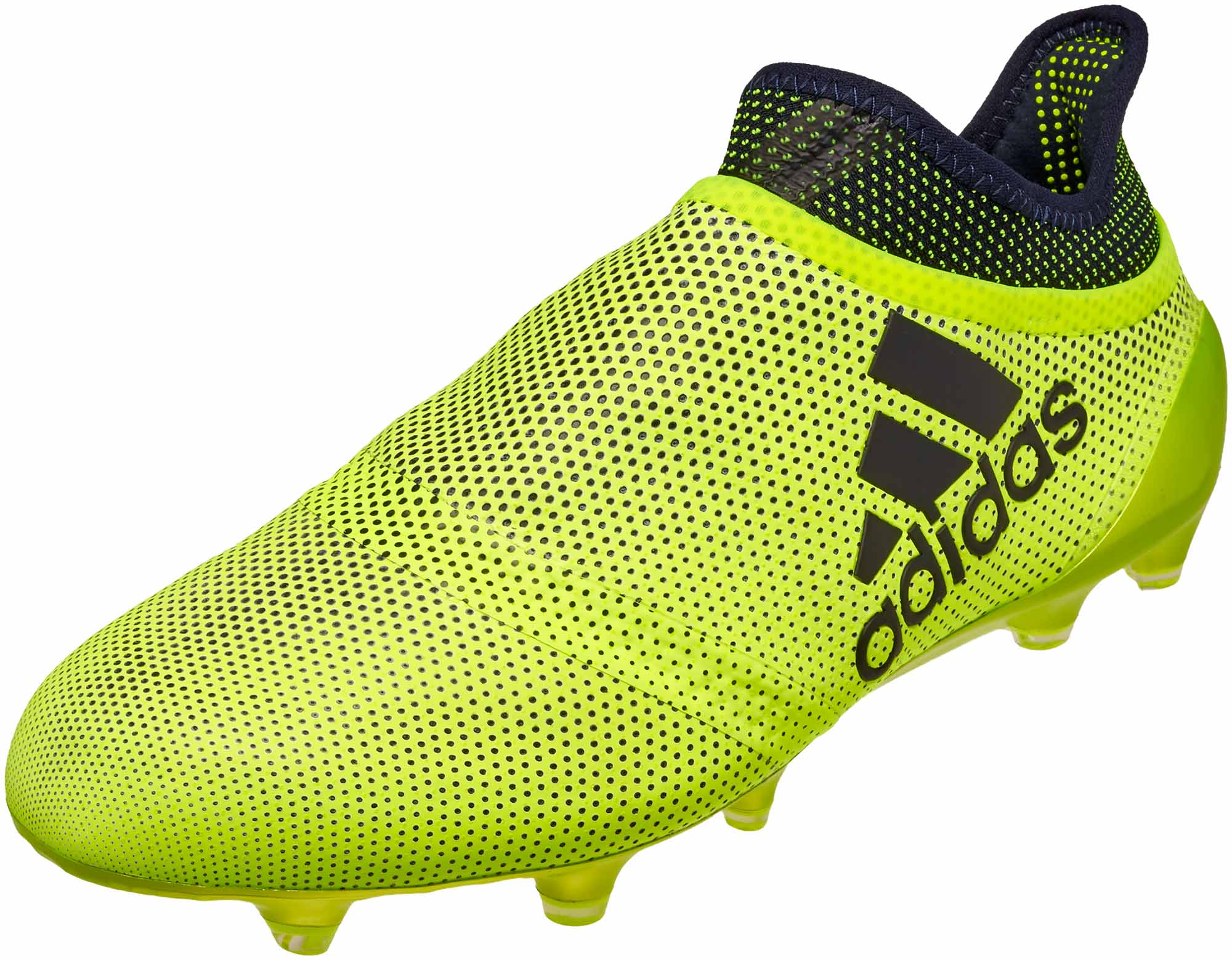 d61d54368f2d adidas X 17+ Purechaos FG Soccer Cleats - Solar Yellow   Legend Ink