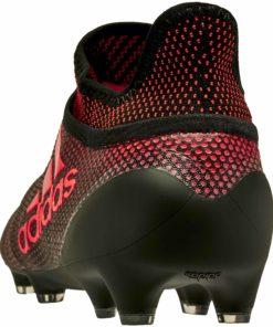 d9cc3647b510 adidas X 17+ Purechaos FG Soccer Cleats - Core Black & Solar Red - Soccer  Master