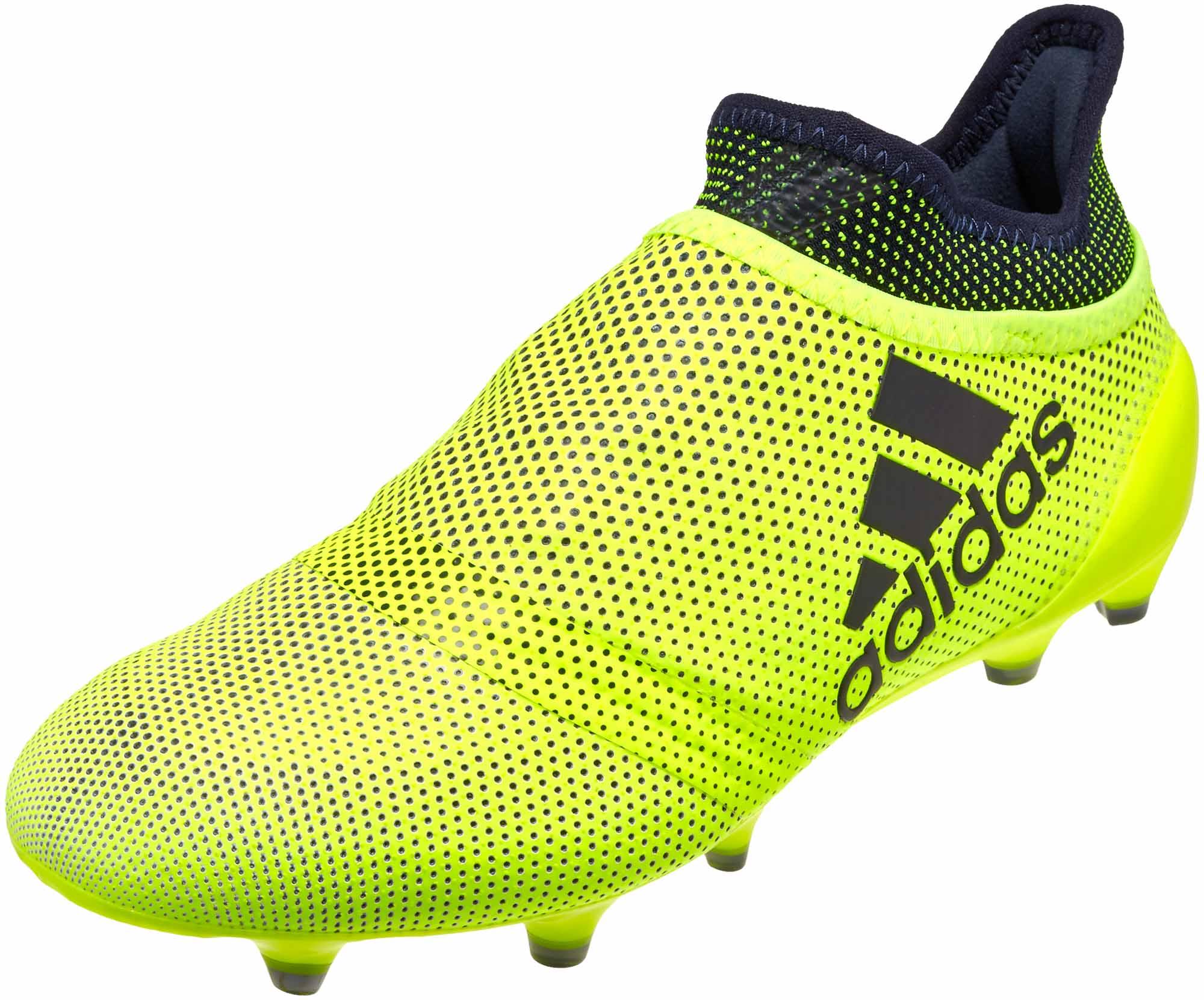 huge selection of 10c2d 6ce7d adidas Kids X 17+ Purechaos FG Soccer Cleats - Solar Yellow ...