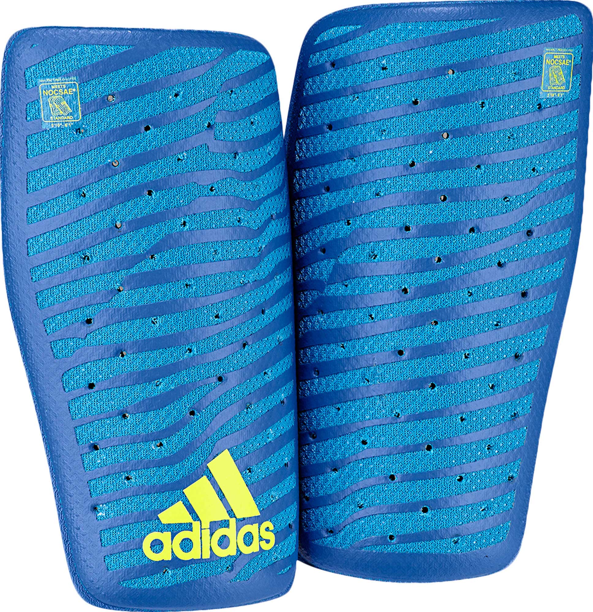 adidas X Climacool Shinguard - Solar Blue Yellow - Soccer Master 99d384e61cba