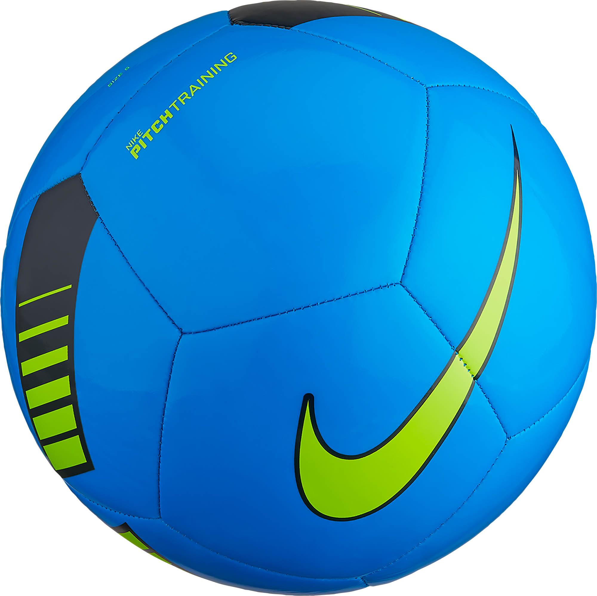 Nike Pitch Training Soccer Ball - Photo Blue & Dark ...