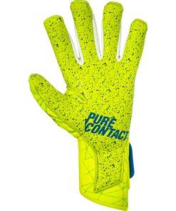 Reusch Pure Contact II G3 Fusion Goalkeeper Gloves - Lime - Soccer ... a30a2e2fff7d