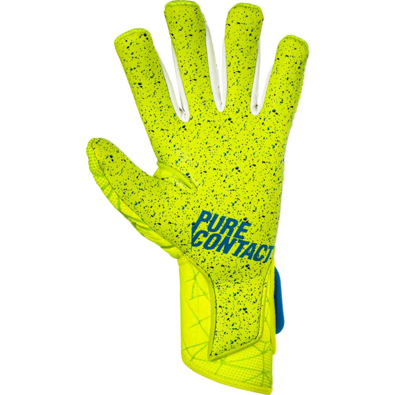 ba7bfa11b Reusch Pure Contact II G3 Fusion Goalkeeper Gloves - Lime - Soccer ...