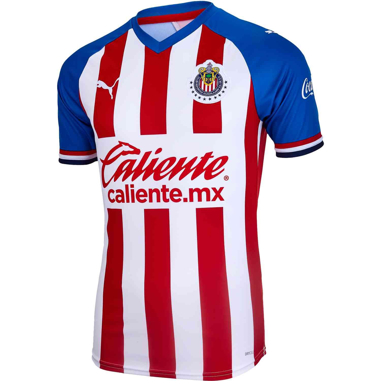 best website b07d9 17c5b 2019/20 PUMA Chivas Home Jersey