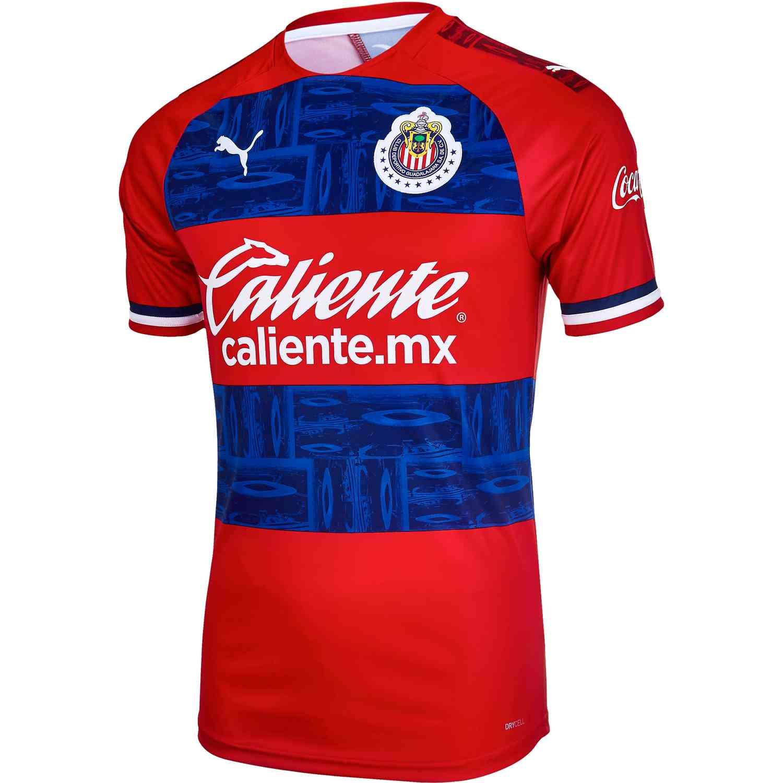 buy online fb34d e4175 2019/20 PUMA Chivas Away Jersey