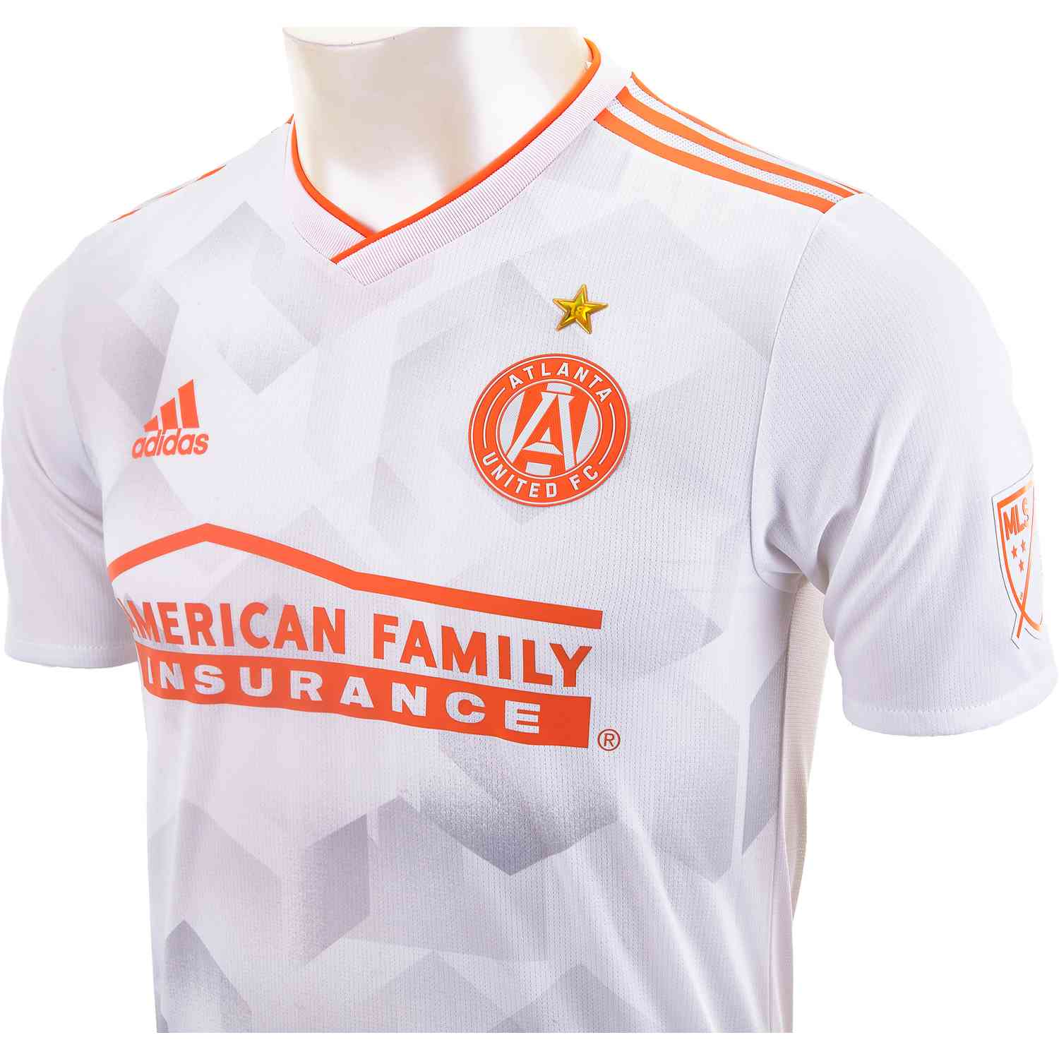 info for f64d6 e593a 2019 adidas Atlanta United Away Authentic Jersey - Soccer Master