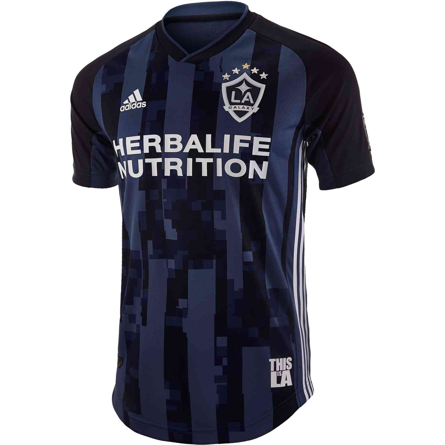new concept ccd9c 15135 adidas LA Galaxy Away Authentic Jersey - 2019