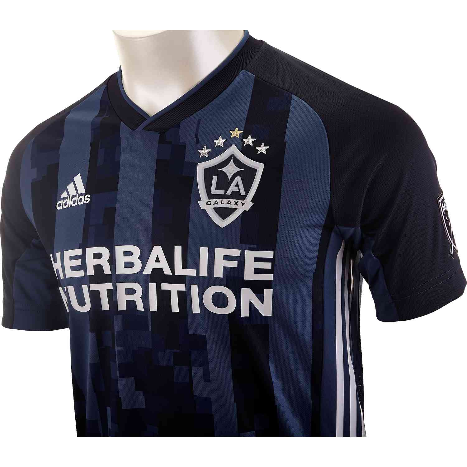 info for 2133a 6e657 adidas LA Galaxy Away Authentic Jersey - 2019 - Soccer Master