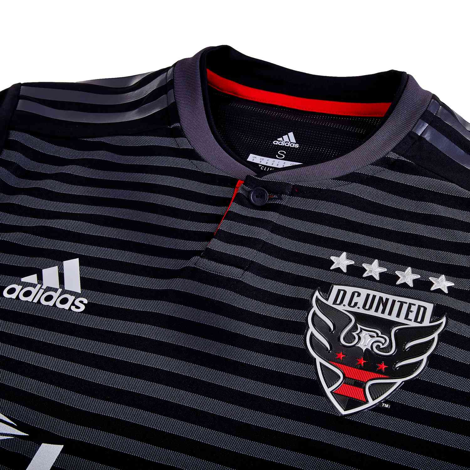 classic fit d3e44 b9688 adidas DC United Home Authentic Jersey - 2019 - Soccer Master