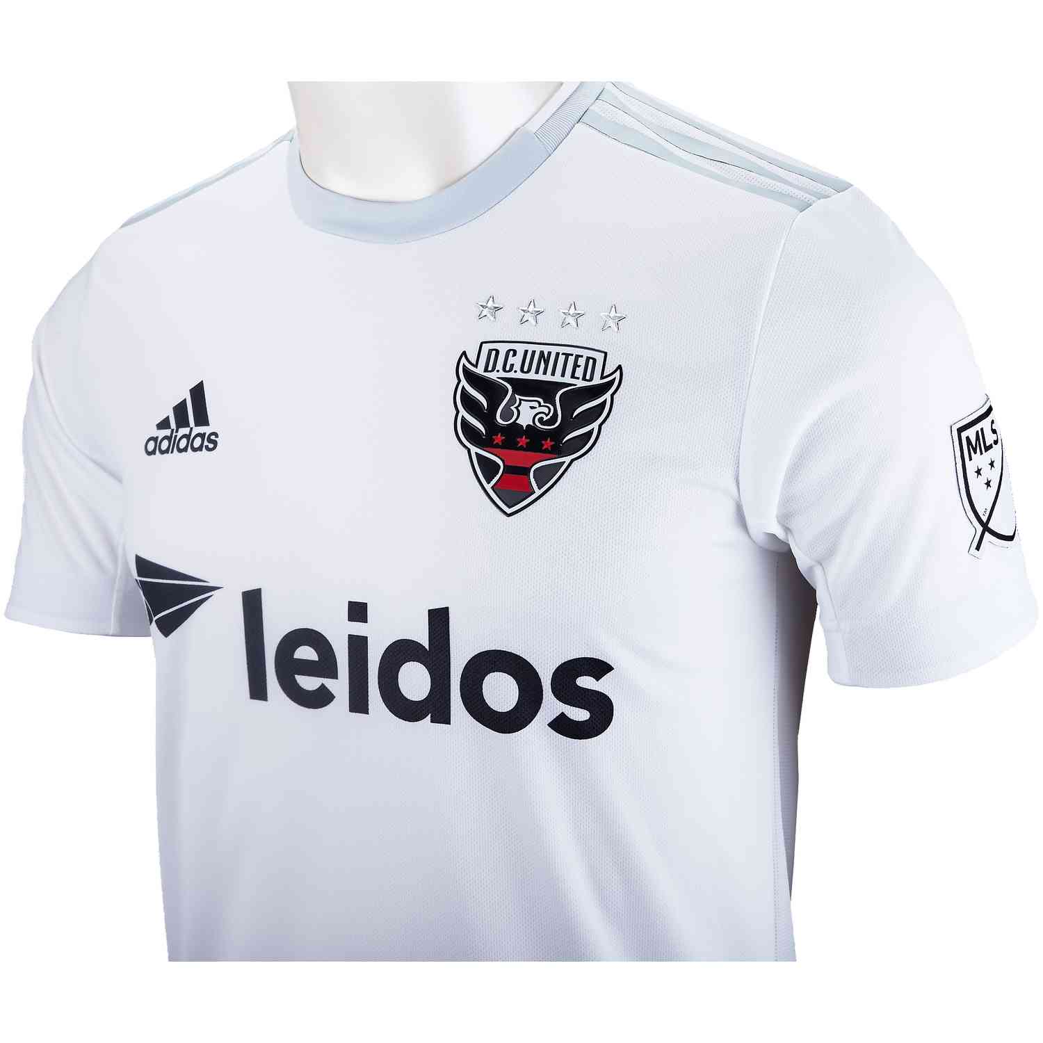df25a6ec040 adidas DC United Away Authentic Jersey - 2019 - Soccer Master