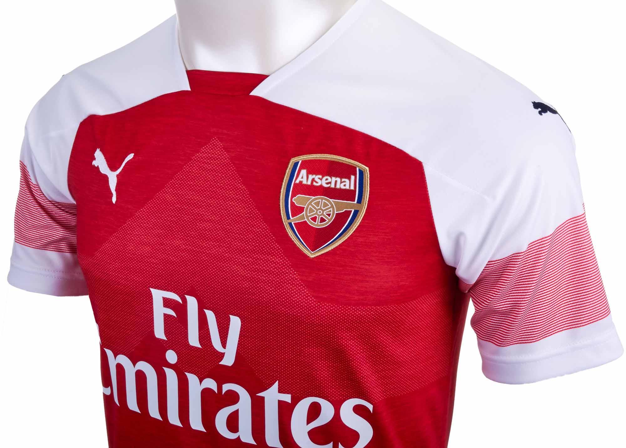 f94c69df4 Kids PUMA Arsenal Home Jersey - 2018 19 - Soccer Master