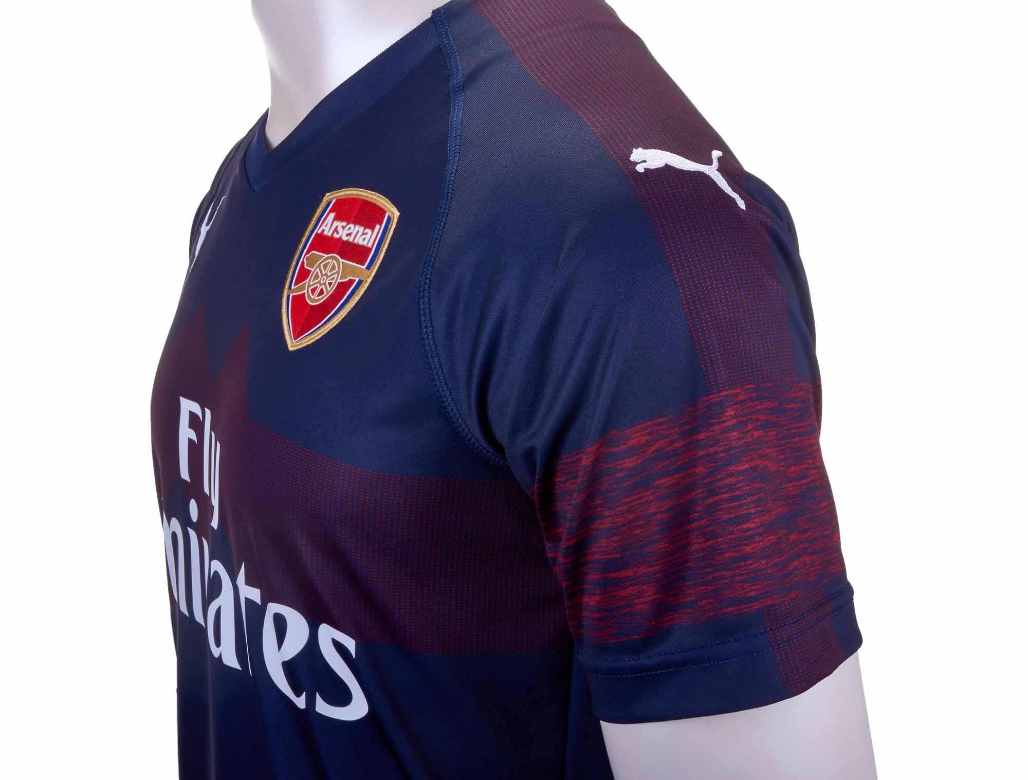 731848d71 PUMA Arsenal Away Jersey - Peacoat/High Risk Red - Soccer Master