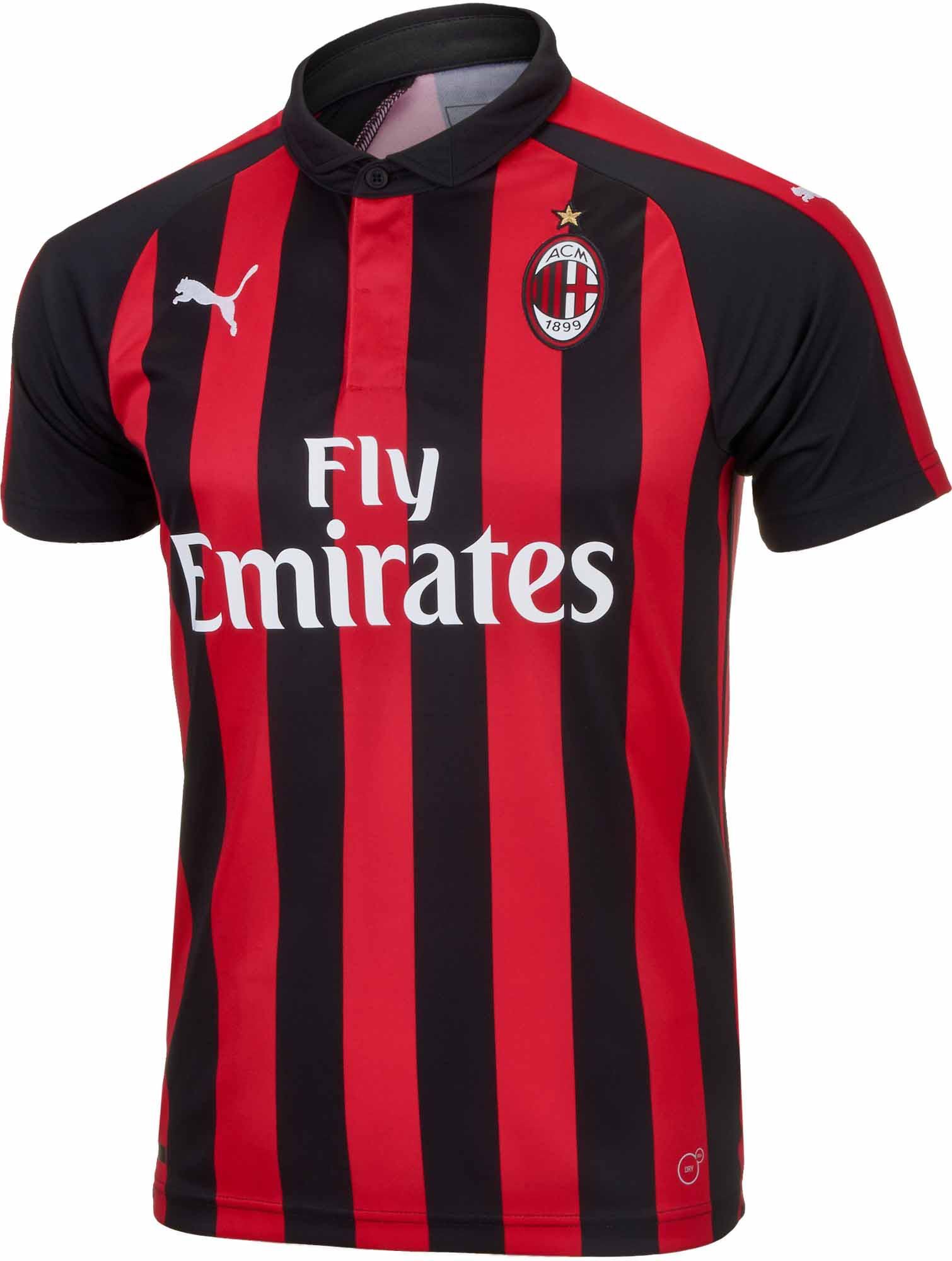 super popular bf488 7a25d PUMA AC Milan Home Jersey 2018-19