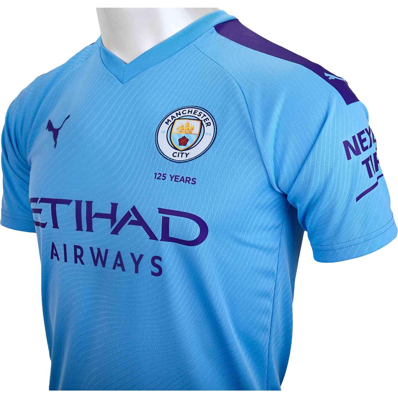 2019/20 PUMA Manchester City Home Jersey - Soccer Master