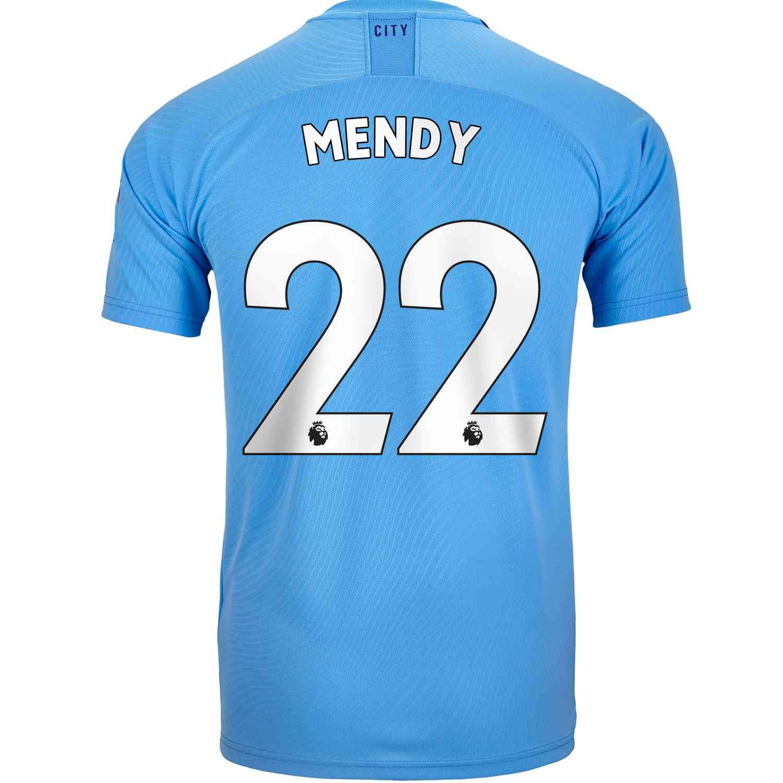 buy online b6533 b4c1b 2019/20 Benjamin Mendy Manchester City Home Jersey