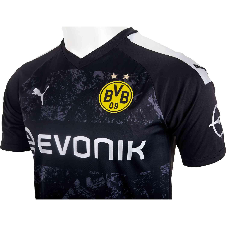2019 20 Puma Borussia Dortmund Away Jersey Soccer Master