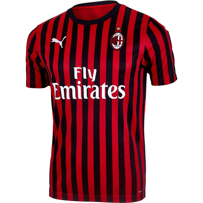 Ac Milan Home Jersey 2019 20 Soccer Master