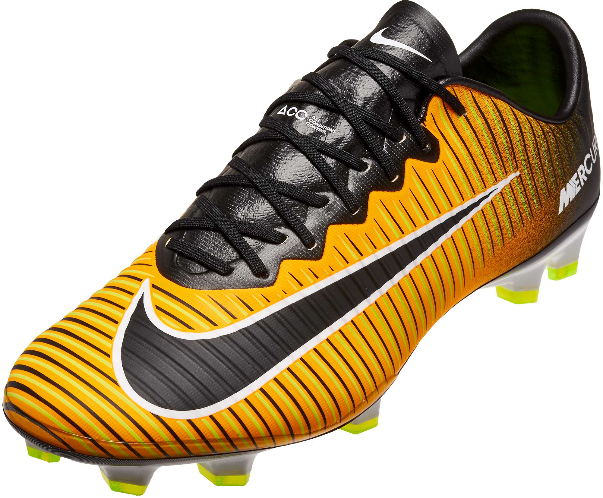 b9eb118fb Nike Mercurial Vapor XI FG Soccer Cleats - Laser Orange   Black ...