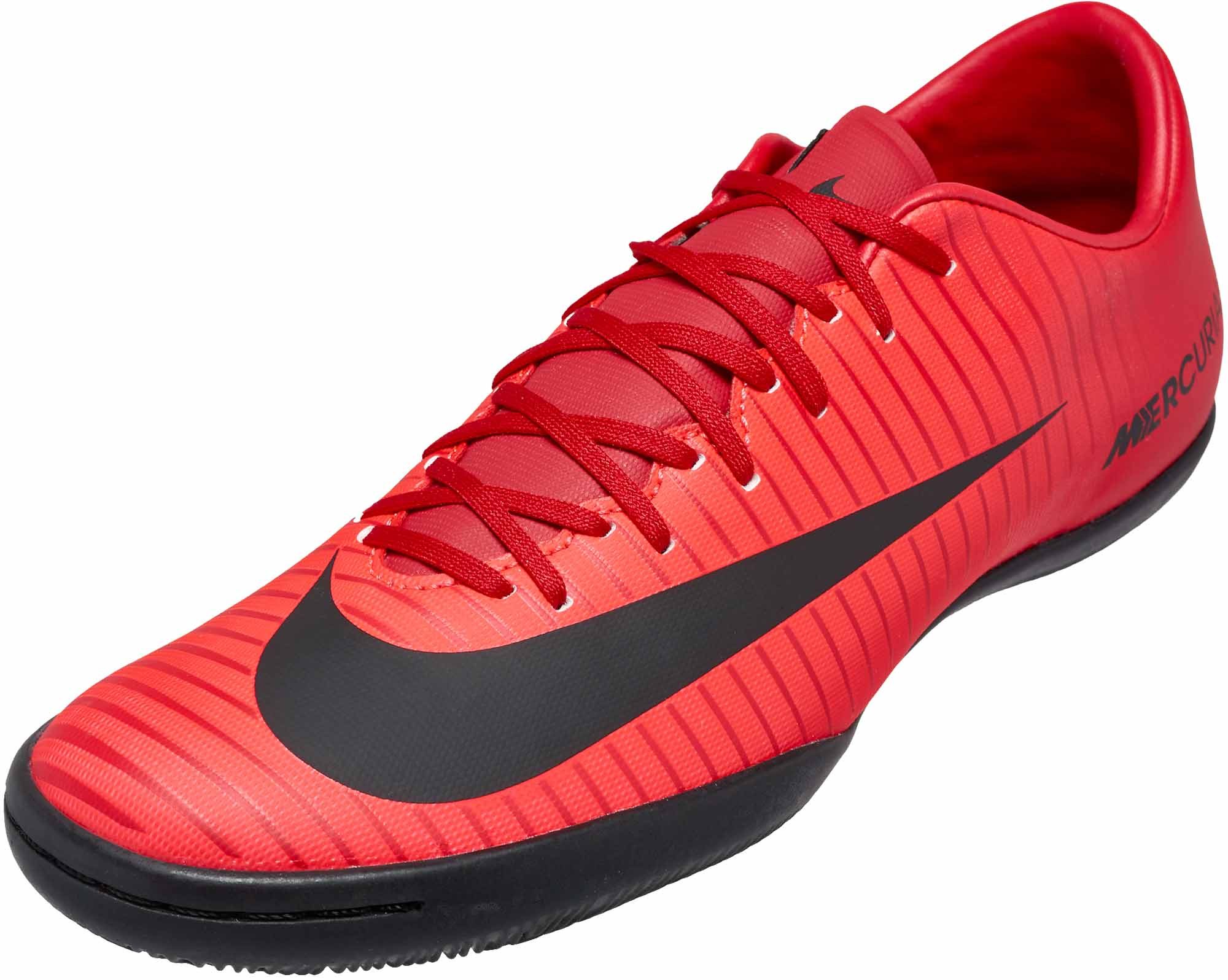 the latest 50bfb 45d0b Nike MercurialX Victory VI IC – University Red   Black